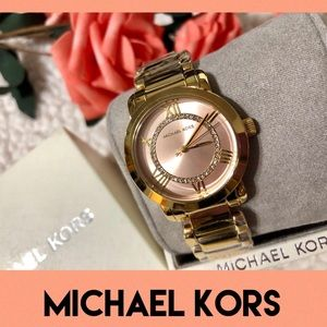 🌷Michael Kors Janey Rose Gold tone Watch-NWT🌷